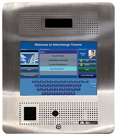 Intercom Door Entry Systems Wilson Security Limited